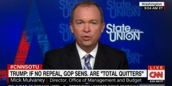 Mulvaney: No Debt Ceiling Hike Until Senate Votes On ACA Repeal Again