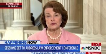 Feinstein Warns: If Sessions Is Fired, It's 'Beginning Of The End' For Trump