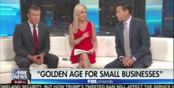 Fox & Friends Lies: Inflates Stock Market Gains Under Trump