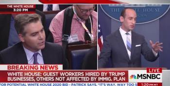 Trump Spokesman Accuses Jim Acosta Of 'Cosmopolitan Bias' On Immigration