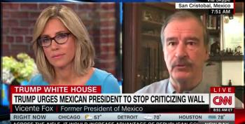 Vicente Fox Drops F-Bomb Over Trump's Wall On CNN