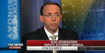 Rosenstein: Trump Has Not Directed DOJ To Investigate Clinton Emails
