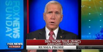 Sen. Thom Tillis: 'No Question' Bill To Shield Mueller Is Directed At Trump