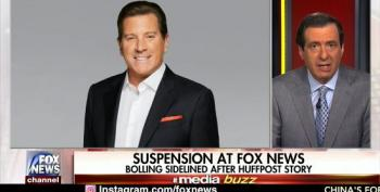 Howard Kurtz Plays Fox News Apologist For Eric Bolling