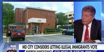 Judge Napolitano: It's Legal But 'Un-American' For Non-Citizens To Vote In Local Elections