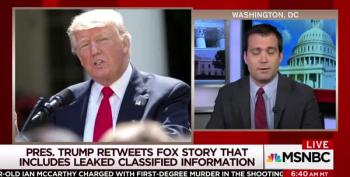 Only Trump Would Retweet Leaked Classified Intel