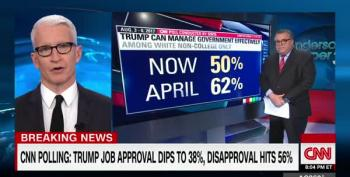 CNN Poll Is More Bad News For Trump And It's His Own Fault