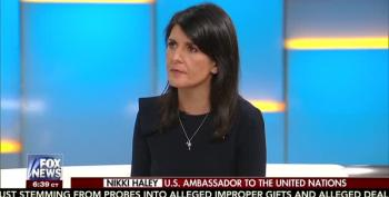 Nikki Haley Scolds Fox For Leaking Classified Intel On North Korea