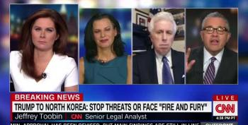Jeffrey Toobin Tells CNN: Stop Creating 'Panic We're On The Brink Of Nuclear War'