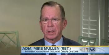 Adm. Mullen 'Extremely Concerned' Over 'Strong Rhetoric' Between U.S. And North Korea