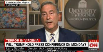 Larry Sabato Calls On Trump To Fire All The White Nationalists On His Staff
