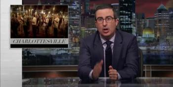 John Oliver On Trump And Charlottesville