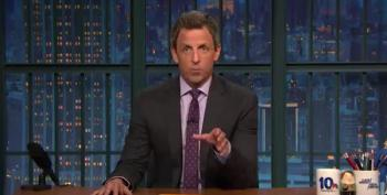 Seth Meyers: If You Want To Be The Leader Of White Nationalists You Can't Also Be President