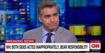 Jim Acosta: We Saw Trump's True Colors: White Hoods And Swastikas