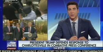 Fox News' Jesse Watters: Trump Was 'Brave And Honest' During Batsh*t Presser