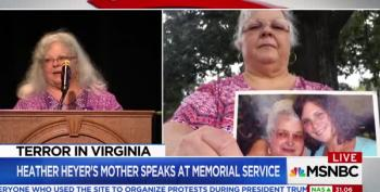 Heather Heyer's Mother Just Gave The Most Amazing Eulogy For Her Daughter