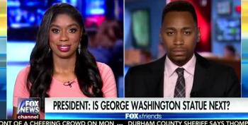 Two Guests On Fox And Friends Tear Up Over Trump's Racist Press Conference