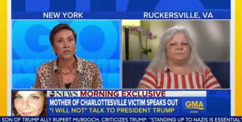 Heather Heyer's Mother To Trump: 'You Can't Wash This One Away By Saying I'm Sorry'