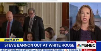 Sarah Kendzior: Even With Bannon Gone, There Are Still Nazis In The White House