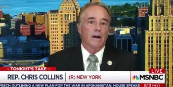 Katy Tur Asks Rep. Chris Collins How Trump Has Promoted Unity. He Can't Answer.