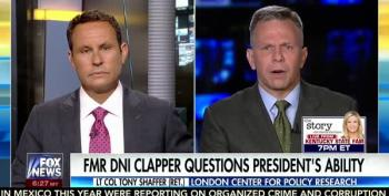 Fox News Freaks Out On James Clapper For Questioning Trump's Fitness