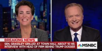 Maddow's 'New Boyfriend' At Grassley Town Hall?