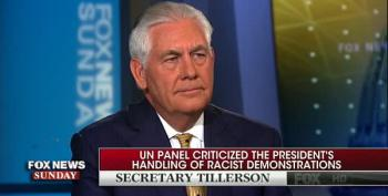 Tillerson Distances Himself From Trump On Charlottesville: 'The President Speaks For Himself'