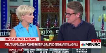 Scarborough: Arpaio Pardon Shows Trump Doesn't Respect Rule Of Law