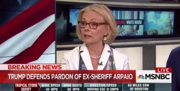 Peggy Noonan Says People Will Have Sympathy For Joe Arpaio Because He's 85