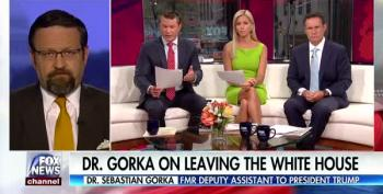 Gorka Claims 'MAGA' Agenda Is Not Being Supported By The White House