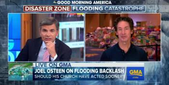 Joel Osteen Does Damage Control On Good Morning America