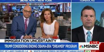 Velshi And Ruhle Push Back Hard On Kobach's Defense Of Trump Ending DACA