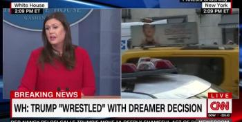 WH Press Secretary Suggests Trump Won't Sign Standalone DREAM Act