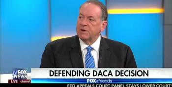 Mike Huckabee: Trump Was 'Incredibly Merciful' By Ending DACA