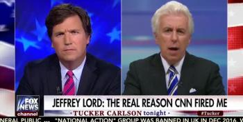 Tucker Carlson And Jeff Lord Whine About Kamau Bell 'Egging On Antifa'