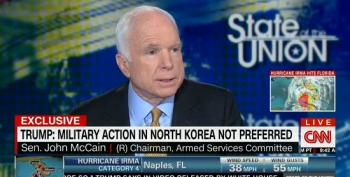 McCain On North Korea: 'I Think That Kim Jong-un Is Not Rational'