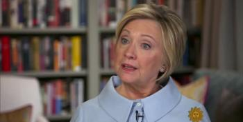 Clinton On Trump's  Inauguration Speech: 'A Cry From The White Nationalist Gut'