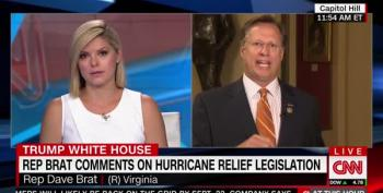 CNN Host Battles With Rep. Brat Over His 'No' Vote On Monies To Support Hurricane Disaster