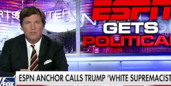Tucker Carlson Attacks ESPN's Jemele Hill For Calling Trump A White Supremacist