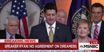 Paul Ryan Can't Spin The 'DACA Agreement' Fast Enough