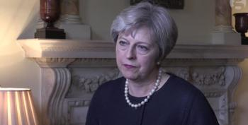 British Prime Minister Scolds Trump About Parsons Green Attack