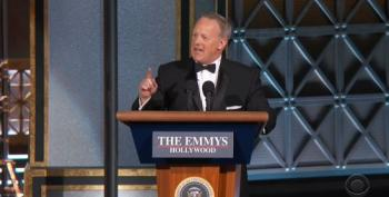 Sean Spicer Makes A Surprise Appearance At The Emmy Awards