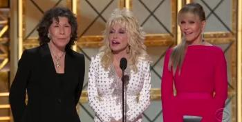 Emmys 2017: Ladies From Movie '9 To 5' Skewer Donald Trump