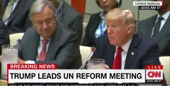 Nikki Haley Tells UN: 'We Are Deeply Grateful [Trump] Has Taken The Time To Be With Us Today'