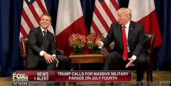 Trump Wants A Big Military Parade; Lou Dobbs Says Yay!