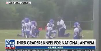 Fox And Friends Angered By 8 Year Old's Playing Football