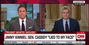 Sen. Cassidy Keeps The Lie Going On CNN