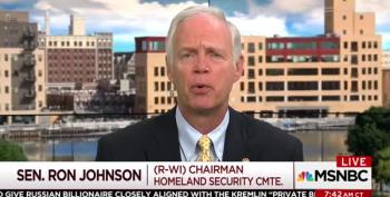 Poor Ron Johnson Is Upset, What With All The Questions And Facts