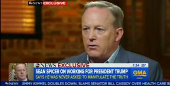 Spicer Insists He Didn't 'Knowingly Lie' When Serving As Press Secretary