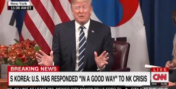 Trump Flips Out That South Korean President Used The Word 'Deplorable'